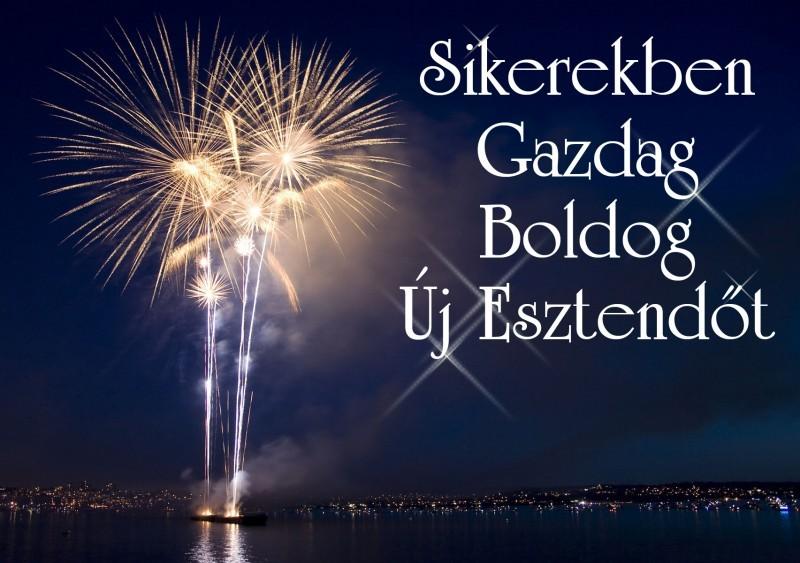 Sikerekben Gazdag Boldog Új Esztendőt